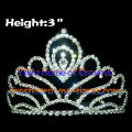 3inch Crystal Crowns Tiaras