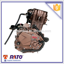 Water cooling motorcycle engine assembly with 4 stroke