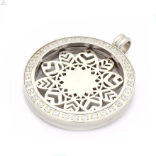 Unique zircon coin pendant jewelry,interchangeable coin pendant