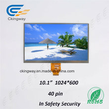 Ckingway 10.1 High Resolutions LCD Широкий экран Красочный дисплей Прозрачный TFT ЖК-дисплей