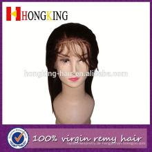 Vordere Spitzeperücke brasilianische Haarperücke für großen Kopf Made In China