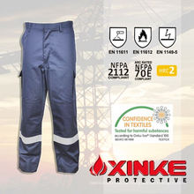 Baumwolle Polyester Flammhemmende Cargo Pants