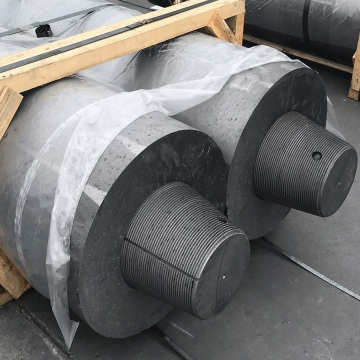 Hollow UHP550mm 650mm Graphite Electrode with Nipples