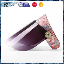 New coming custom design pvc sun visor hat cap for wholesale
