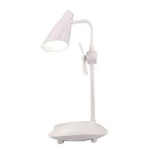 Lámpara de escritorio vendedora caliente con ventilador