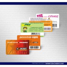 2016 Christmas Promotion Customized Loyalty Card (ZDB03)