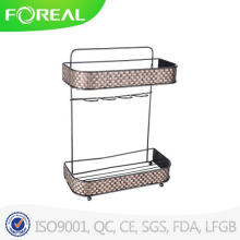 American Style 2-Shelf Bathroom Rack