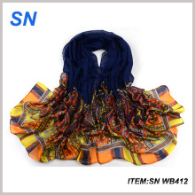 Venta al por mayor bufanda impresa bufanda diseñador China al por mayor