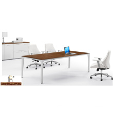 Simple Design Wood Panel Office Meeting Table (FOH-UVH24)