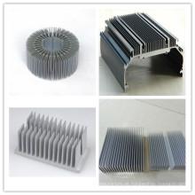 6000 Series Grade Aluminium Profil Extrusion Kühlkörper