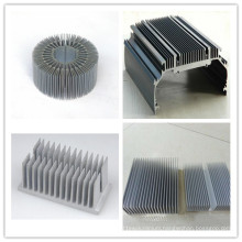 6000 Series Grade Aluminum Profile Extrusion Heat Sink