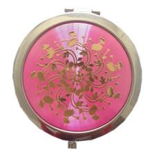 Epoxy Promotional Metal Pocket Mirror (BOX-13)