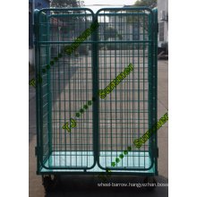 Heavy Duty Steel Foldable Roll Container for Sale