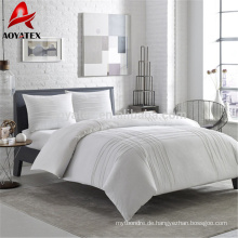Großhandels-China-billige 100% Polyester weiße Hotel microfiber Steppdecke