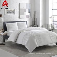 Wholesale Chine pas cher 100% polyester blanc hôtel microfibre couette