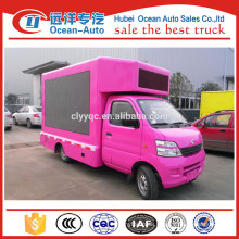 Brand new changan truck outdoor advertising led vehicle for sale