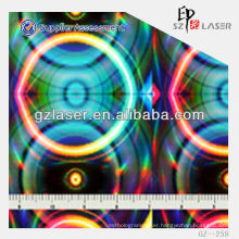 YXCP--259 hologram 3d anti-counterfeit nickel plate for plastic film