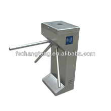 Automatic semi automatic tripod turnstile bi-direction pass