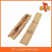 Rohmaterial Baguette Verpackung laminierte Papiertüte mit Seitenfalte