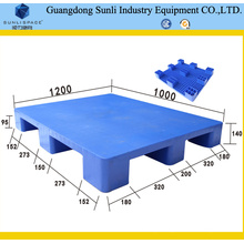 Industrial Truck HDPE Flat Top Recycling Plastic Pallet