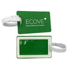 Custom Wholesale Soft PVC Travel Baggage Tag,Handbag Tag