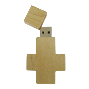 Simple High Quality Bamboo USB Flash Drive