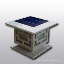 Oriental style solar garden light, LED garden pillar light, solar fence light, solar post light