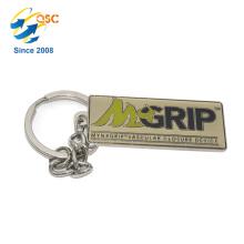 Logotipo personalizado de alta calidad del bolso 3D Metal Keychain