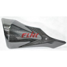 Motorcycle Carbon Fiber Parts Exhaust Protector for Suzuki Gsxr600/750 12