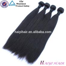 Wholesale Grade 8A Virgin Malaysian Hair Malaysian Straight Wave Silky Straight Human Hair Extension