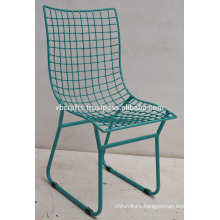 Modern Industrial Loft Metal Mesh Chair