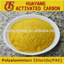 Precio de fábrica cloruro de polialuminio / poli cloruro de aluminio / PAC