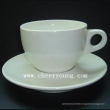 Taza y plato (CY-P502)