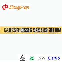 yellow underground non-detectable warning tape