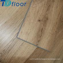 Holzoberfläche PVC Vinyl Plank Boden mit Klick-Design