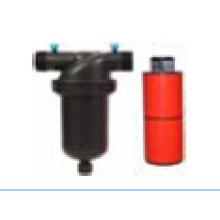 T Disco Filter 120mesh Male Thread Medium Plastic para Irrigación