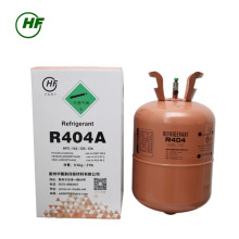 China 99.9% purity mixed refrigerant R404a gas Unrefillable Cylinder 11.3kg Evaporated residue 0.01% for Singapore