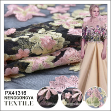 Hot sale High quality knitted poly embroidery upholstery fabric