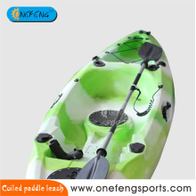 Coiled Snap Hook Paddle Leine