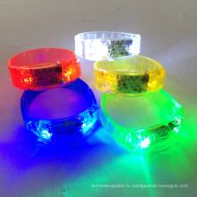 LED звук браслет