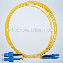Câble de raccordement fibre optique SC / LC Duplex SM