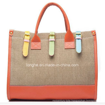 New Arrival Fashion Canvas Ladies Messenger Bag (ZXS0005)