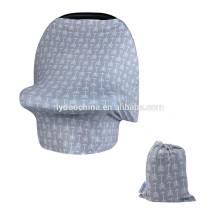 Эластичный 4-в-1 Автокресло навес Крышка для престарелых корзину Обложка бесконечности шарф