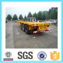 Cimc 3 Axle Skeleton Semi Trailer Sale for Container Transportation