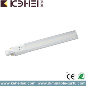 G23 6W LED PL Tube 6000K Pilote interne.