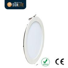 Ultra Thin Round 8inch CE 18W Slim LED Panel/LED Downlight
