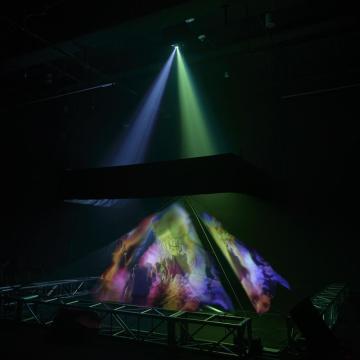 Lámina de holo en 3D para la pantalla de holograma fantasma de pepper