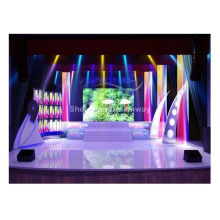 Full Colour P6 Indoor Stage Led Rental Screen Smd 3528 With Brushed Aluminum Cabinet