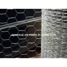 Maillage en fil de poulet hexagonal en fil métallique
