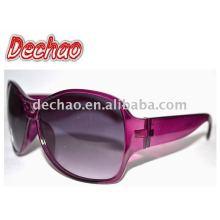óculos de sol plásticos baratos para venda por atacado